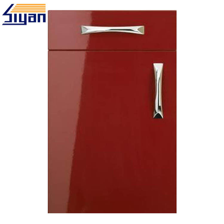 Fashional Red Gloss Kitchen Cabinet Doors