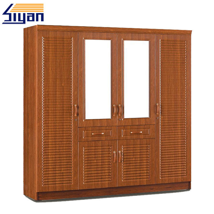 Shutter Style Closet Doors , Louvered Shutter Doors For Dressing Room Cabinets